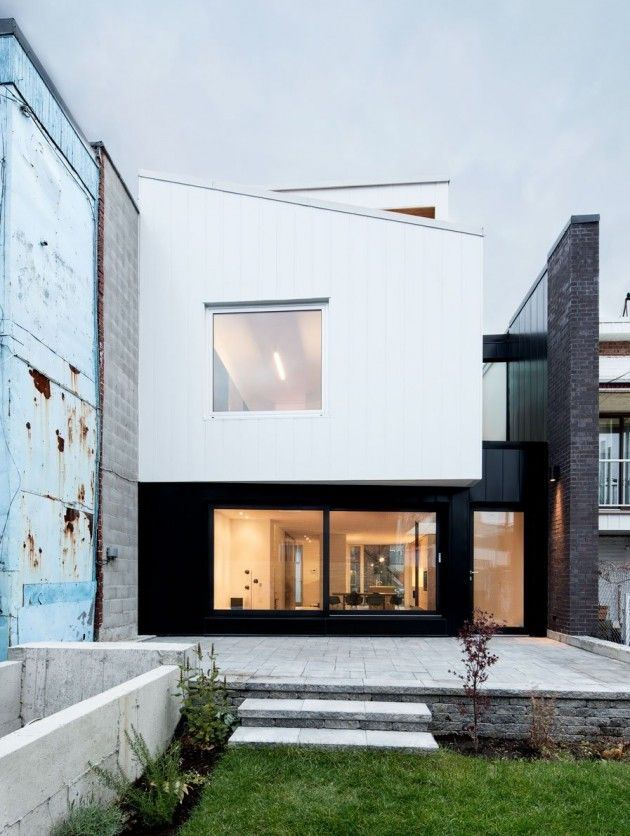 naturehumaine have designed a new live/work residence located in Montreal, Canada.