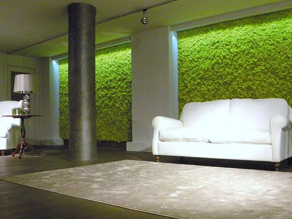 Moss Wall In Living Room