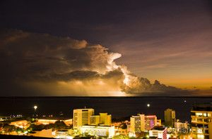 Night skyline of Darwin City