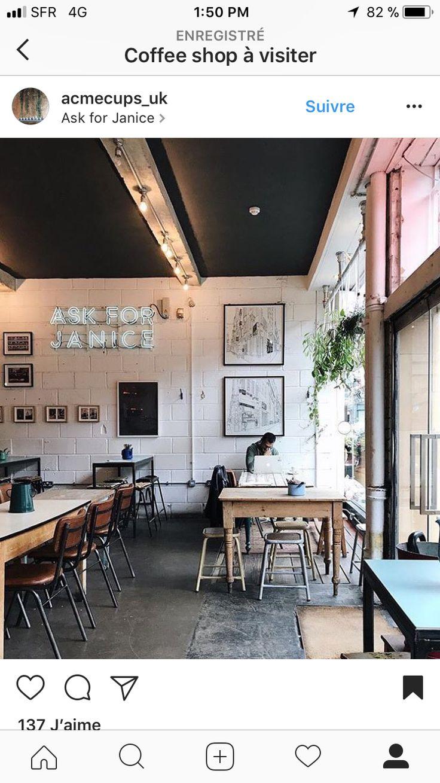 Épinglé par Sébastien Abba sur INSPI 2018 Coffee Shop