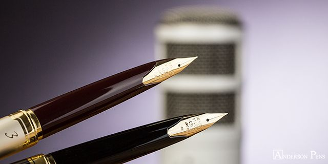 Anderson Pens Podcast! Thursday, September 14 at 10:30am Central! Join Brian and Lisa as they talk Dallas Pen Show Re-Cap, Pilot E95S, Montblanc The Legend of Zodiacs, Kobe ink and Much More!  blog.andersonpens.com -- #fpn #fpgeeks #penaddict #fountainpenday #fountainpen #fountainpens #andersonpens #dallaspenshow2017 #montblancink #pilote95s