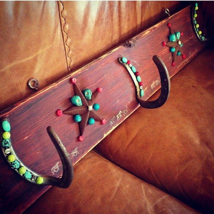 403 best horseshoe inspired images on pinterest horseshoe art homemade coat rack or bridal rack solutioingenieria Gallery