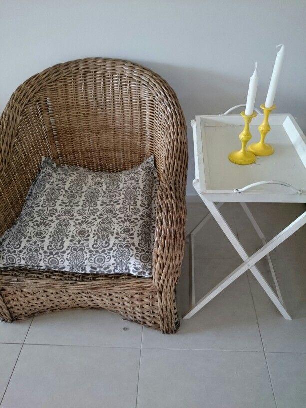 Cane woven chair