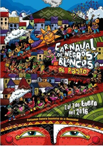 Afiche del carnaval de 2016