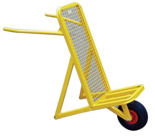 Tile Barrow - Trolley for Moving Roof Tiles and Slates with Pneumatic Tyre. http://www.rapidtoolsdirect.co.uk/category/roofing-tools