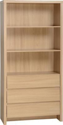Kingston, 3 Drawer, Bookcase