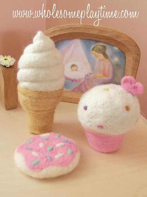 inspiration: felted yummies: Photo