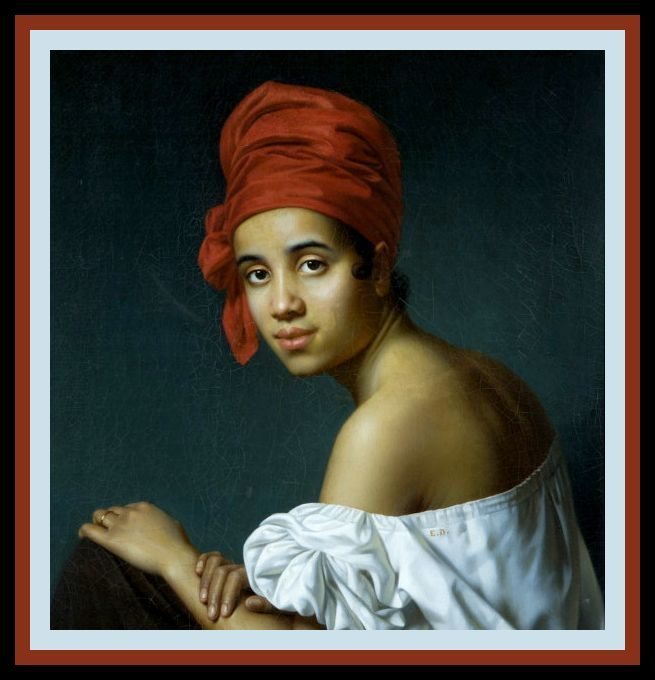 """""""Creole in a Red Turban"""""""