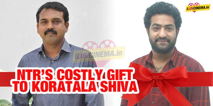 #NTR's Costly gift to #KoratalaSiva