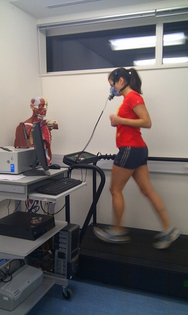 VO2max and Anaerobic Threshold test with Quark CPET by US runner, via Flickr.