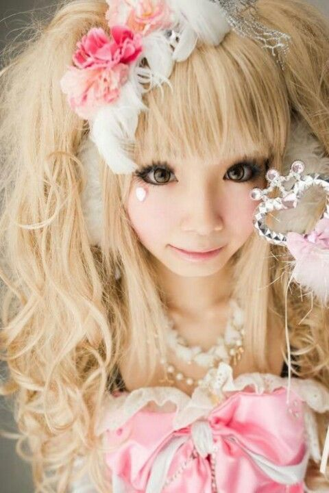 Hime Gyaru Style Gyaru Pinterest Gyaru Kawaii And