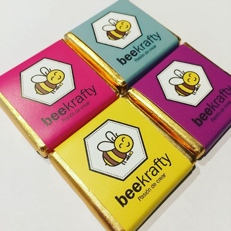 Personalizamos los chocolates con lo que quieras. Logos, imágenes, mensajes... todo lo que quieras! #beekrafty #pasionporcrear  www.beekrafty.com
