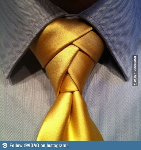 The coolest way to tie a tie - Eldredge necktie knot.