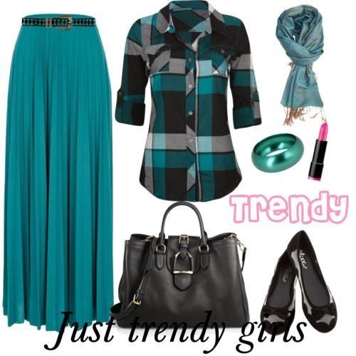 hijab maxi skirt 12 s