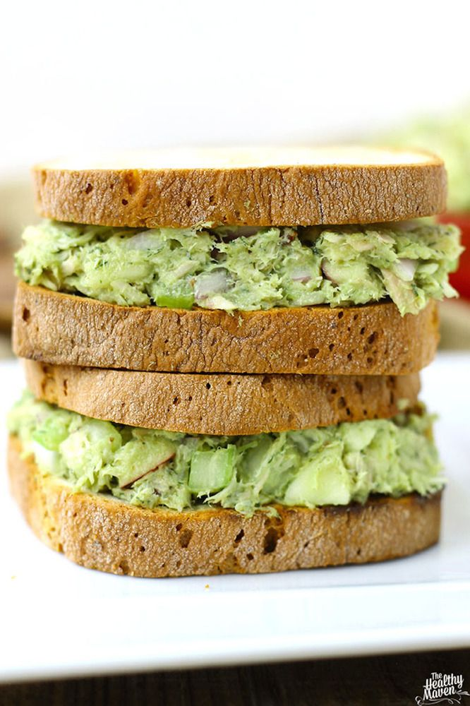 How To Make Tuna Salad Without Mayonnaise. Because Yes, You Can.  Why not with  Avacodo