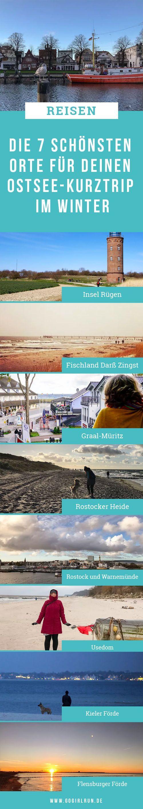 Die 7 schönsten Orte für Deinen Ostsee-Kurztrip im Winter