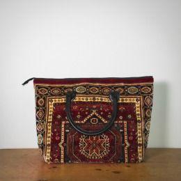 Large Carpet bag Voyager Elite Polaris Red design