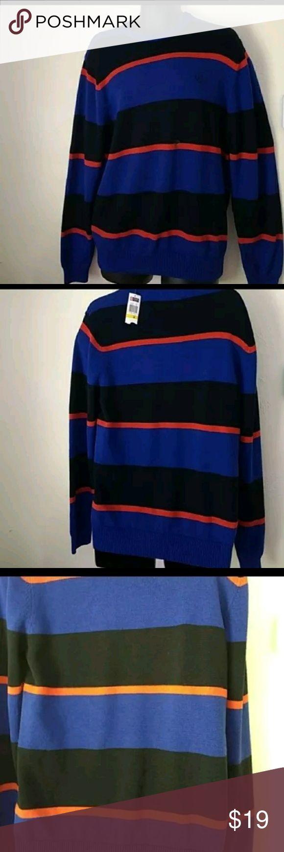 Chaps Ralph Lauren sweater new Striped brand new! Retail 69$ Chaps Sweaters Crewneck