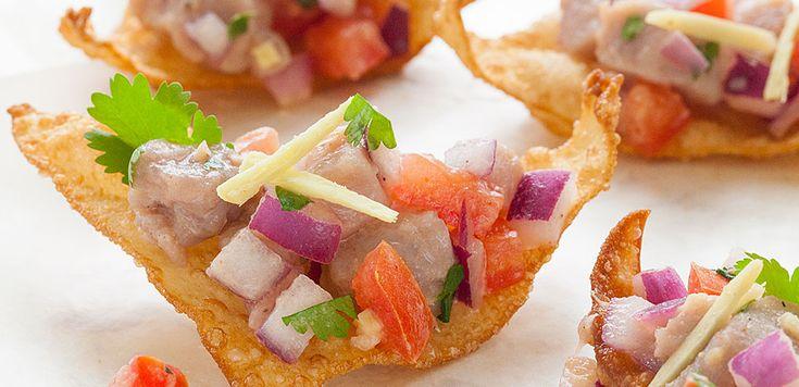 Tuna Ceviche | under the sea | Pinterest | Tuna ceviche ...