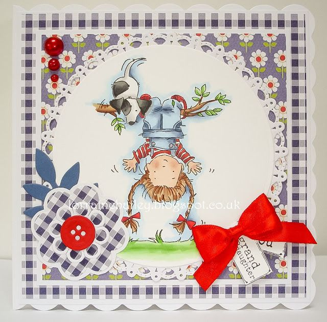LOTV - Annabel Upside Down with Sunny Side Up Paper Pad by Lorraine Bailey