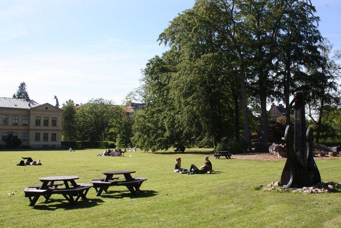 Botaniska Trädgården in Lund, Sweden