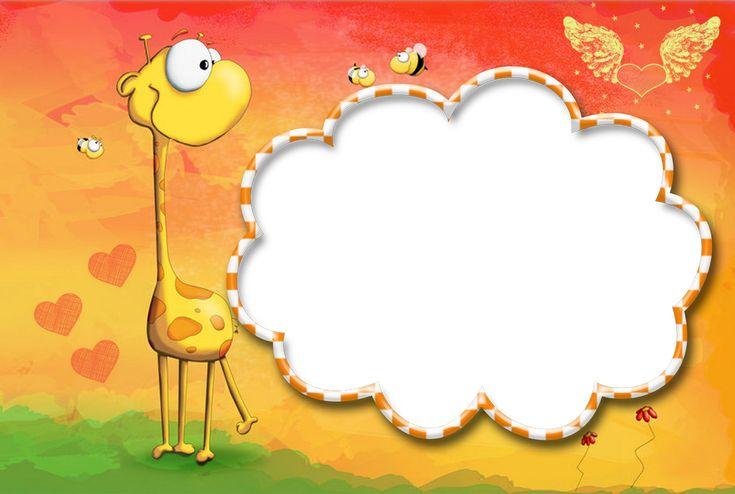 jirafa con corazones                                                       …