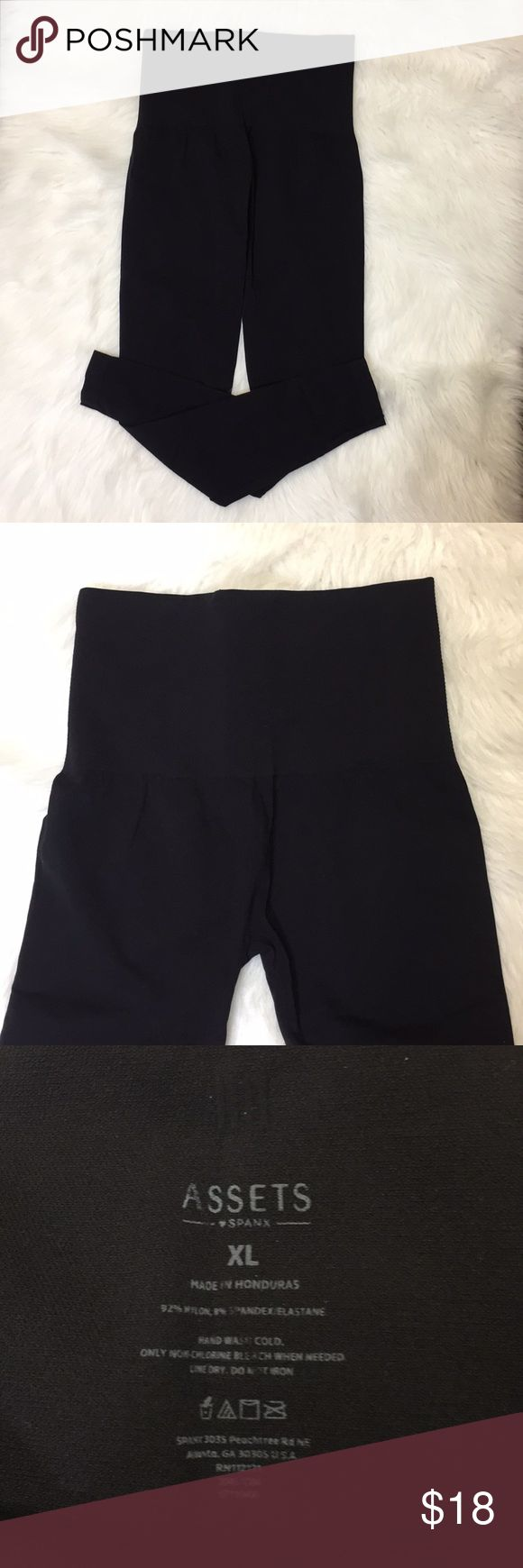 """New SPANX ASSETS. Size XL Brand new without tags. High waisted SPANX. Size XL.  Inseam 27"""" Assets By Spanx Pants Leggings"""