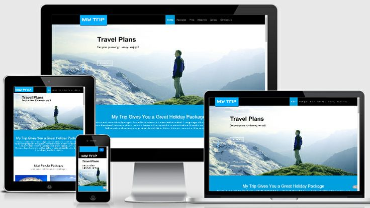 Traveller Responsive Web Template - My Trip