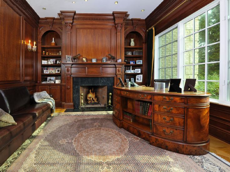 Victorian Style Office Old World, Gothic, and...