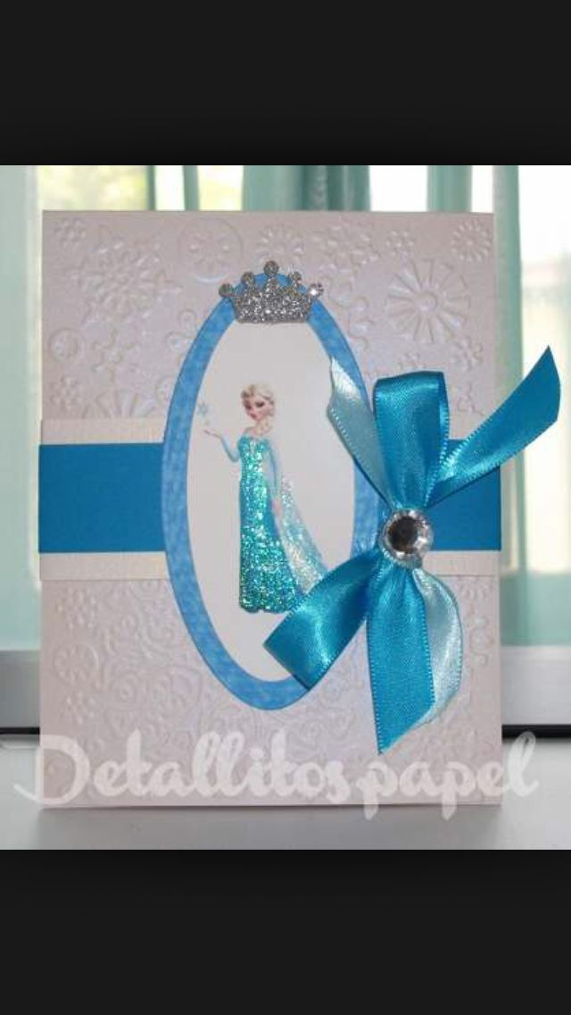Invitación Frozen