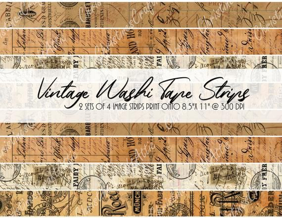 Never Ending Washi Tape for Your Junk Journals instant digital download LHS Class of 1929 Yearbook Photos