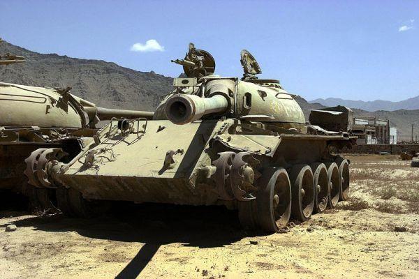 The Road to Bagram.  T-54/55 MBT. Bagram Airfield (formerly known as Bagram Air Base)