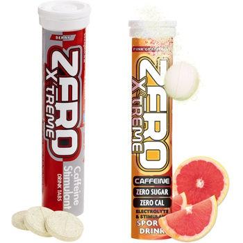 Comprimidos de bebida energética con electrolitos High5 - Zero  Zero es la nueva bebida con electrolitos y un fantástico sabor de High5 que ahora incluye un impulso de cafeína (69mg): aprox. la misma cantidad que una taza de café.