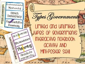 Worksheets Limited And Unlimited Government Worksheet top 25 ideas about government lessons on pinterest 3 branches of limited and unlimited governments lesson flipbook poster set