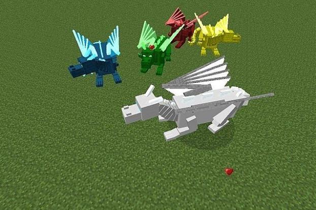 Minecraft mods Dragon Craft 1.6.4