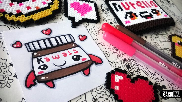 How To Draw a Cute Nutella - Easy and Kawaii Drawings by Garbi KW