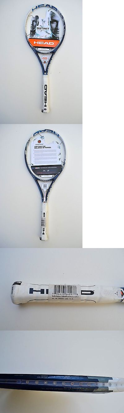 Racquets 20871: Head Youtek Graphene Instinct Mp New Tennis Racquet Size 4 3/8 -> BUY IT NOW ONLY: $89 on eBay!