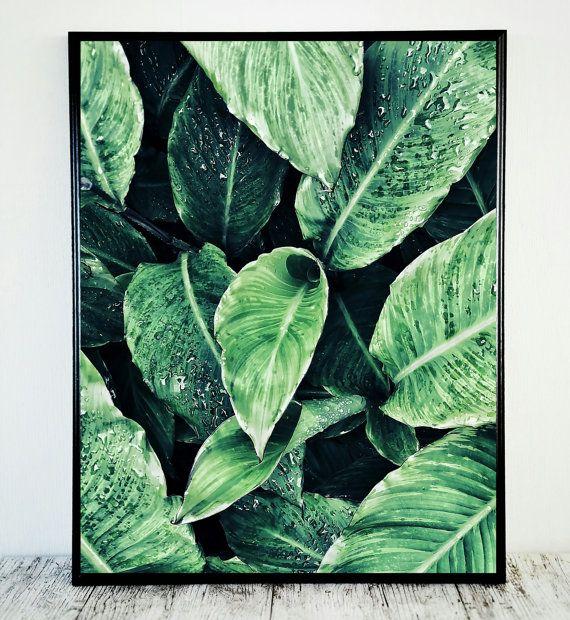 Groene blad afdrukken verlaat afdrukbare natuur door CristylClear