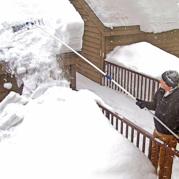 Snow Shovel Aluminum Roof Rake .