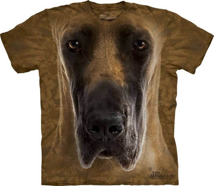 Great Dane T-Shirt - Click image to see hundreds of different animal t-shirts #themountaintees