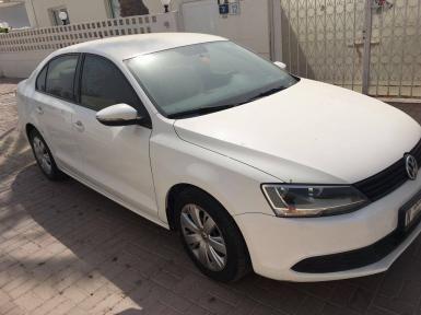 Volkswagen Jetta 2012 55000km white   Car Ads - AutoDeal.ae