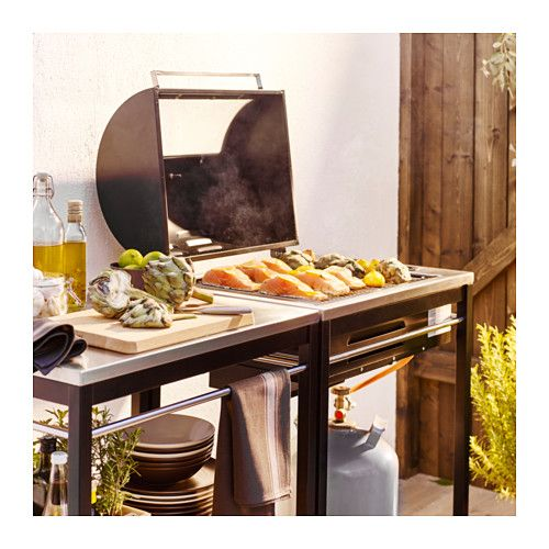 10 mejores ideas sobre barbecue au gaz en pinterest barbecue gaz plancha barbecue gaz avec - Plancha trolley gas met deksel ...