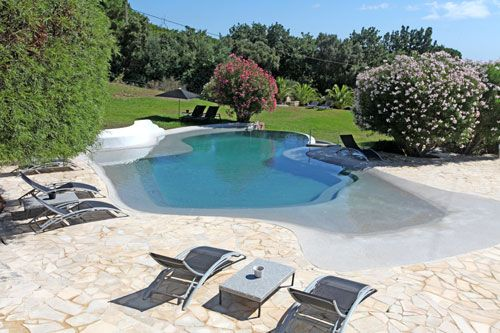 les 8 meilleures images du tableau piscine avec plage immerg e sur pinterest piscines. Black Bedroom Furniture Sets. Home Design Ideas