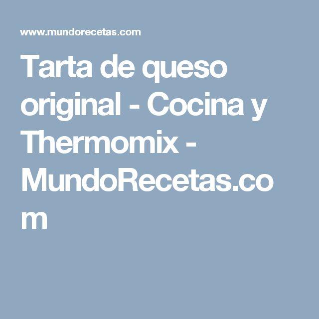 Tarta de queso original - Cocina y Thermomix - MundoRecetas.com
