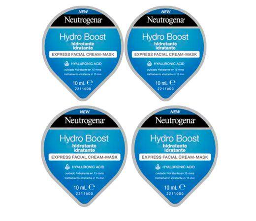 4 Mascarillas Hidratantes En Crema Neutrogena Hydro Boost 4x10ml Por Sólo 9 03 Hidratante Neutrogena Crema Neutrogena