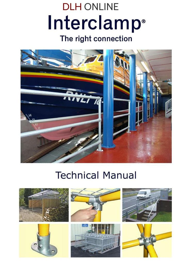 Interclamp tube clamps technical manual