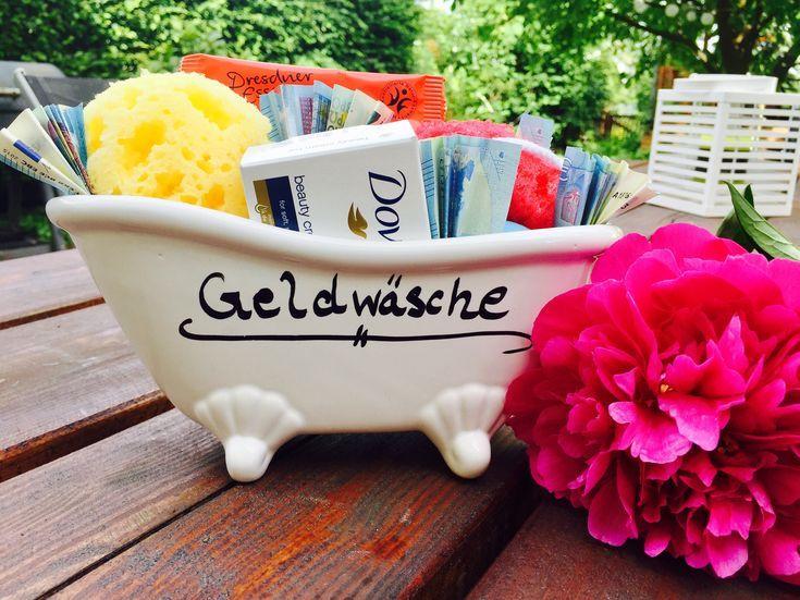 Geldgeschenk mal anders – Geldwäsche   – DIY Geldgeschenke selber machen