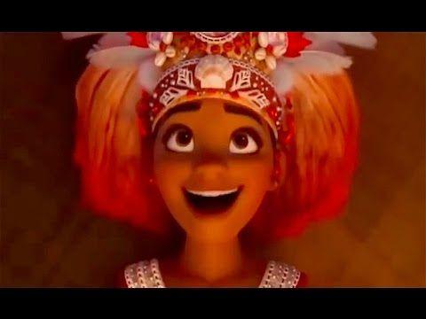 Disney's MOANA Movie - Moana Songs - Dwayne Johnson Disney Animated Movie - YouTube