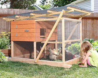 El Plan de Coop de pollo de jardín Coop vestidor por TheGardenCoop