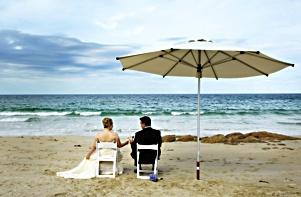 Beach wedding photography in south west Western Australia near Margaret River. #beach wedding  www.envywebsite.com